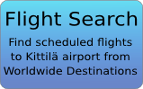 Flights to Kittila
